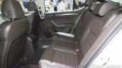 2016 Skoda Superb rear seats at the 2015 Chengdu Motor Show