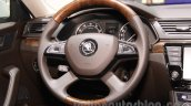 2016 Skoda Superb steering at the 2015 Chengdu Motor Show