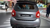 2016 Smart Fortwo Cabrio rear angle at IAA 2015