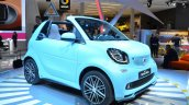 2016 Smart fortwo Cabrio front three quarter left at IAA 2015