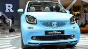 2016 Smart fortwo Cabrio headlamp grille and bumper at IAA 2015