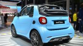 2016 Smart fortwo Cabrio rear three quarter at IAA 2015