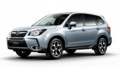 2016 Subaru Forester (facelift) front three quarter revealed in scanned brochure
