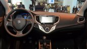 2016 Suzuki Baleno dashboard at the IAA 2015