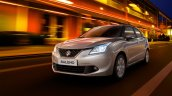 2016 Suzuki Baleno front quarter unveiled ahead of debut