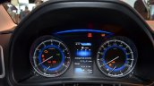 2016 Suzuki Baleno instrument cluster at the IAA 2015