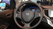 2016 Suzuki Baleno steering wheel at the IAA 2015