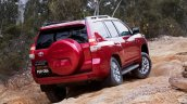 2016 Toyota Prado rear three quarter launched in Australia