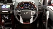 2016 Toyota Prado steering wheel launched in Australia