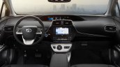 2016 Toyota Prius dashboard North American specification official image