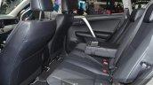 2016 Toyota RAV4 Hybrid rear seat at IAA 2015