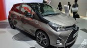 2016 Toyota Yaris Bi-Tone Hybrid front three quarter at IAA 2015