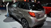 2016 Toyota Yaris Bi-Tone Hybrid rear three quarter left at IAA 2015