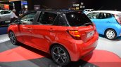 2016 Toyota Yaris Bi-Tone rear three quarter at IAA 2015