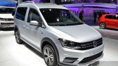 2016 VW Caddy Alltrack front quarter at the IAA 2015
