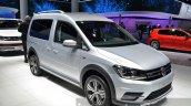 2016 VW Caddy Alltrack front three quarter at the IAA 2015