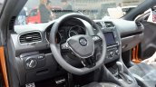 2016 VW Golf Cabriolet interior at the IAA 2015