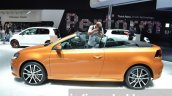 2016 VW Golf Cabriolet side at the IAA 2015