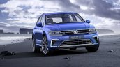 2016 VW Tiguan GTE front quarter (1) unveiled ahead of debut