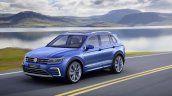 2016 VW Tiguan GTE front three quarter unveiled ahead of debut
