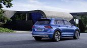 2016 VW Tiguan GTE rear three quarter (1) unveiled ahead of debut