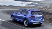 2016 VW Tiguan GTE rear three quarter unveiled ahead of debut