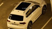 2016 VW Tiguan rear quarter spotted undisguised