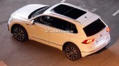 2016 VW Tiguan side top view spotted undisguised