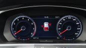 2016 Volkswagen Tiguan digital instrument cluster at IAA 2015