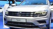 2016 Volkswagen Tiguan front grille at IAA 2015