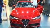 Alfa Romeo Giulia front at the IAA 2015
