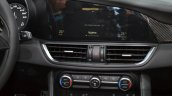 Alfa Romeo Giulia infotainment display at the IAA 2015