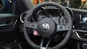 Alfa Romeo Giulia steering wheel at the IAA 2015