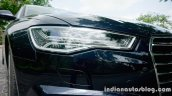 Audi A6 Matrix LED headlamp review