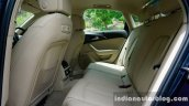 Audi A6 Matrix rear seat review