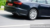 Audi A6 Matrix rear wheel in motion review