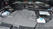 Audi Q7 e-tron quattro engine bay at the IAA 2015