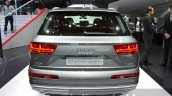 Audi Q7 e-tron quattro rear at the IAA 2015