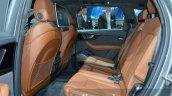 Audi Q7 e-tron quattro rear seating at the IAA 2015