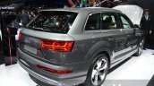 Audi Q7 e-tron quattro rear three quarter at the IAA 2015