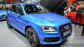 Audi SQ5 TDI Plus front three quarter left at IAA 2015