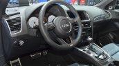 Audi SQ5 TDI Plus interior at IAA 2015