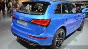 Audi SQ5 TDI Plus rear three quarters at IAA 2015
