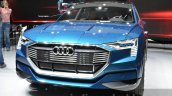 Audi e-tron quattro concept front three quarter at the IAA 2015