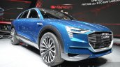 Audi e-tron quattro concept front three quarter low at the IAA 2015