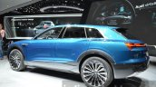 Audi e-tron quattro concept rear thee quarter at the IAA 2015