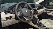 BMW 225xe steering wheel at IAA 2015