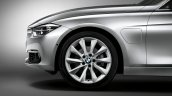 BMW 330e PHEV charging port lid unveiled