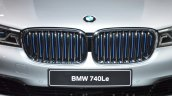 BMW 740Le plug-in hybrid grille at IAA 2015