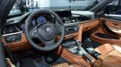 BMW Alpina D4 Biturbo interior dashboard steering wheel at IAA 2015